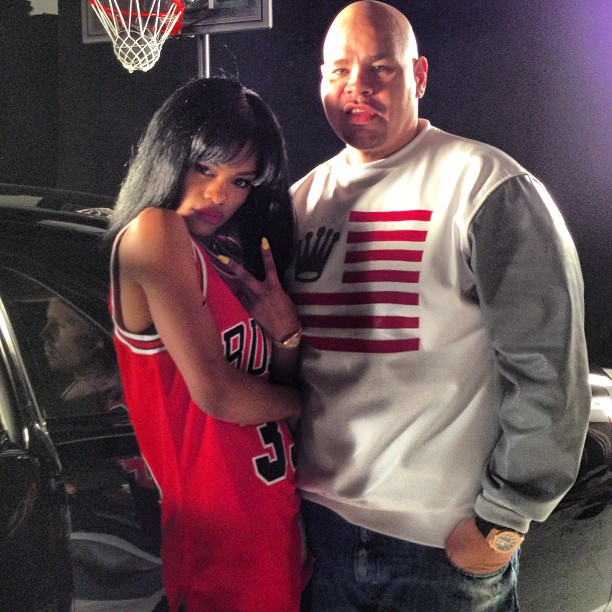 Fat Joe Ballin video shoot (4)