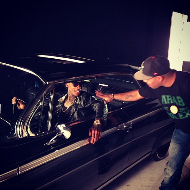 Fat Joe Ballin video shoot (9)