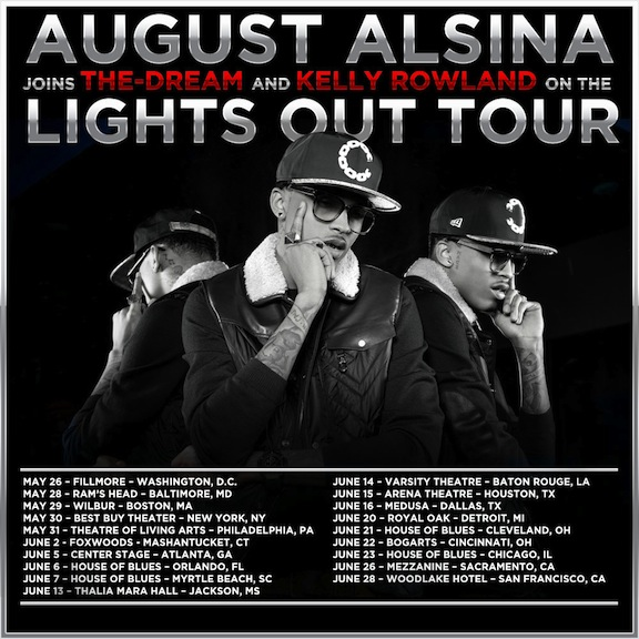 August alsina tour dates in Melbourne