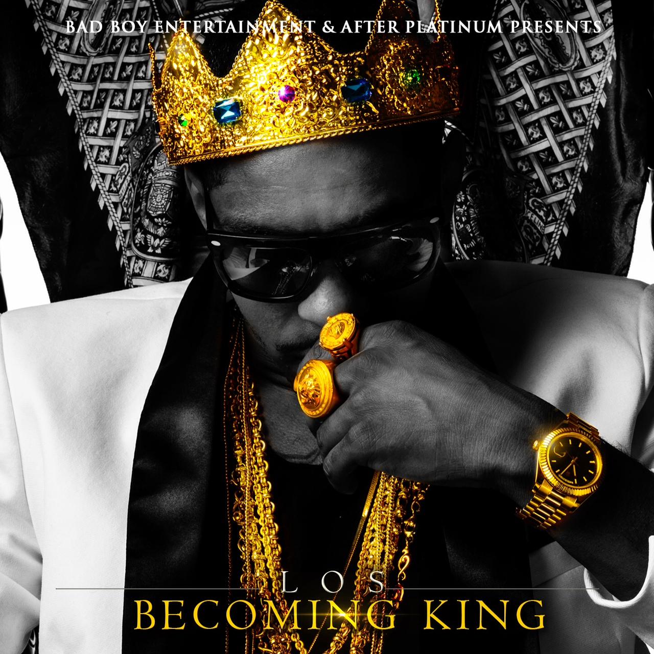 Los Becoming King Mixtape Artwork Hiphop N More