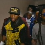Lil Wayne Walks Floyd Mayweather To Ring In Fight Vs. Robert Guerrero (Video)