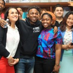 Kendrick Lamar Serves As Principal For The Day At Providence High School (Video)