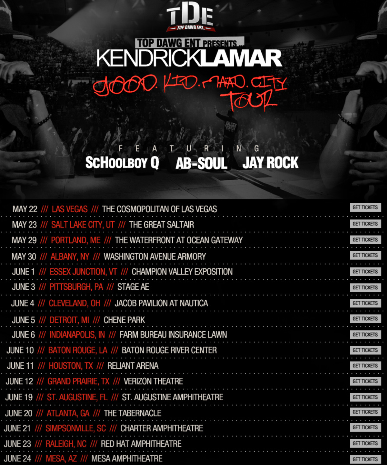 "... ""Yeezus"" Tour With Kendrick Lamar + Tour Dates ‹ Kempire Daily"
