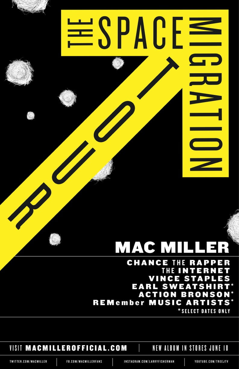 mac miller space migration tour