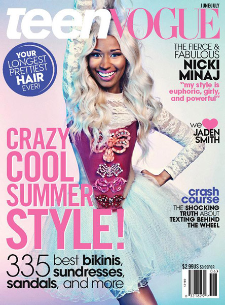 nicki minaj teen vogue