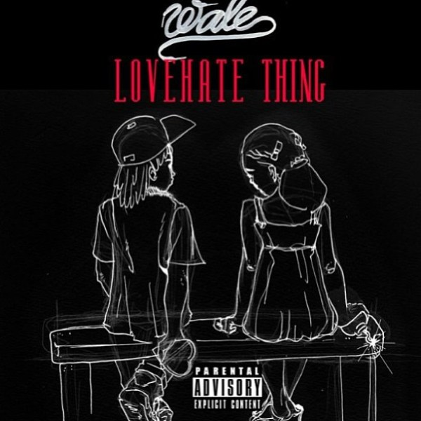 Wale – 'Love Hate Th...X Album Cover