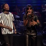 Kelly Rowland & Wiz Khalifa Perform 'Gone' On Jimmy Fallon