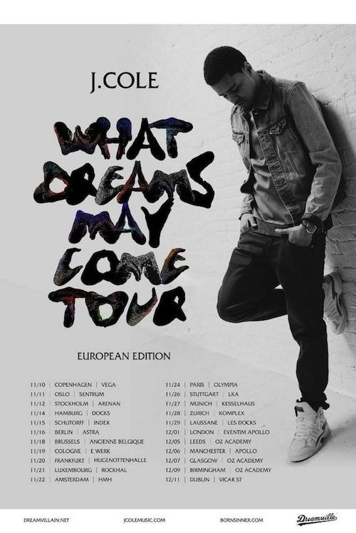 J Cole Tour  Tickets