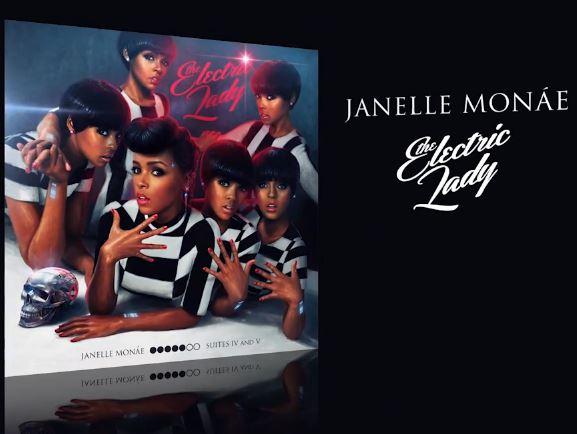 Janelle Monae – The Electric Lady (Album Cover & Track ...  Janelle Monae �...