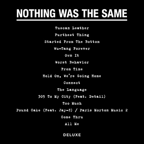 nwts deluxe tracklist