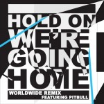 pitbul hold on were going home 150x150