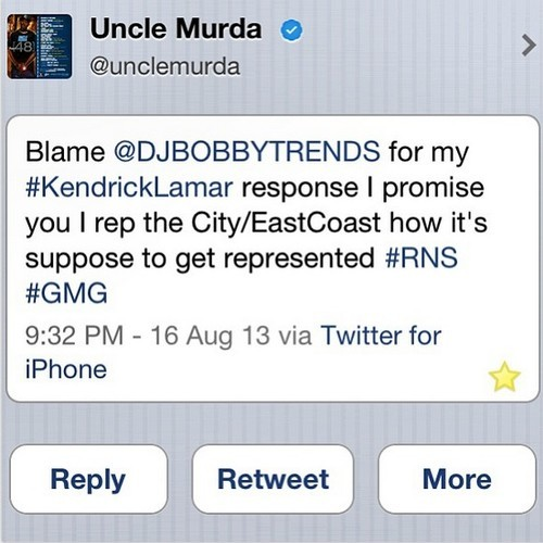uncle murda kendrick