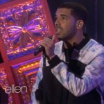 Drake Performs 'Hold On We're Going Home' On The Ellen Show