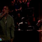 Kanye West & Charlie Wilson Perform 'Bound 2′ On Jimmy Fallon