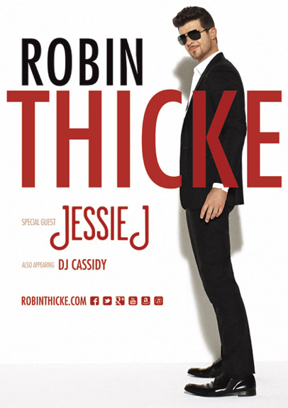 robin thicke tour