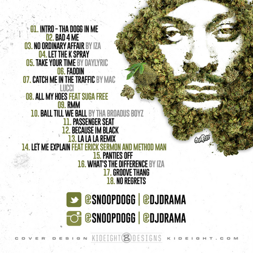 snoop dogg thats my work 2 back