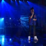 The Weeknd Performs 'Pretty' On David Letterman