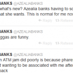 Azealia Banks Disses Pharrell For Not Supporting Her Single 'ATM Jam'