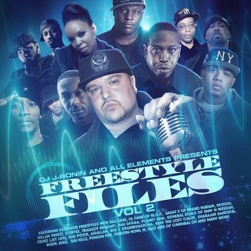 dj j ronin freestyle files vol. 2