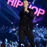 Eminem Performs 'Berzerk' & 'Rap God' At MTV EMAs