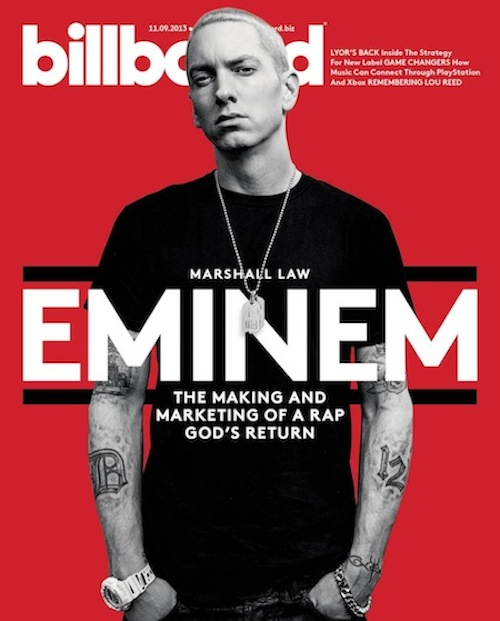 eminem billboard