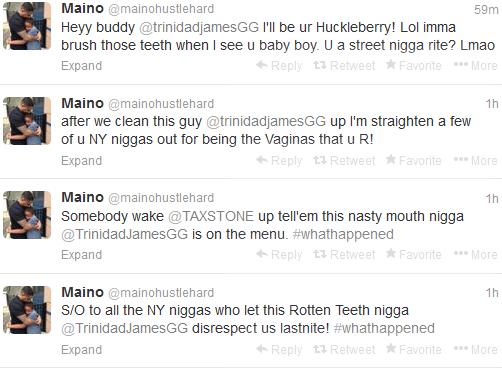maino tweets