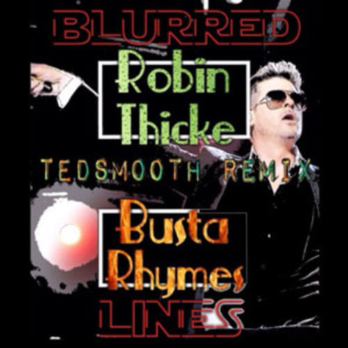 robin thicke blurred lines busta