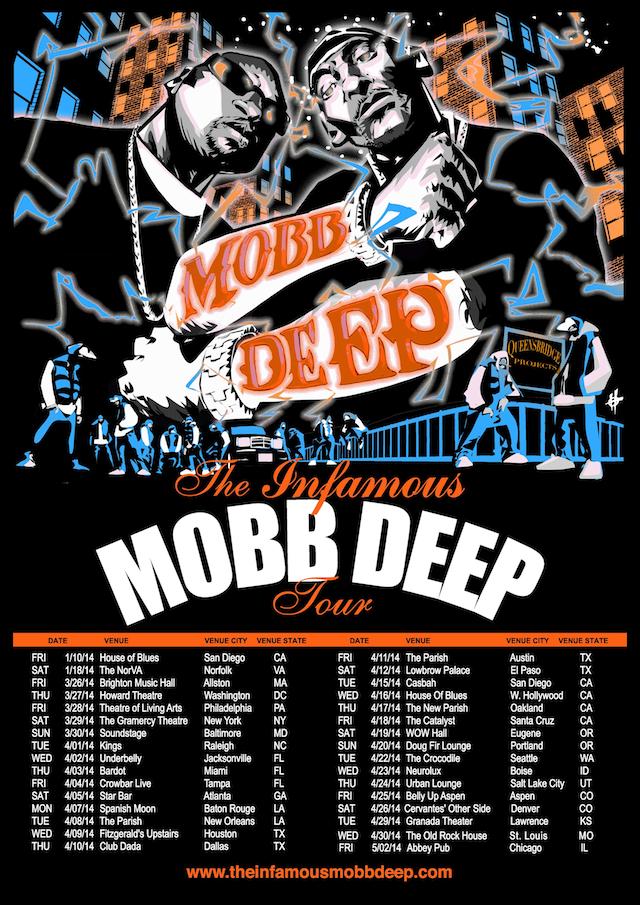 mobb deep tour