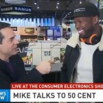 50 Cent Launches SMS Audio Water-Proof Sports Collection Headphones At CES