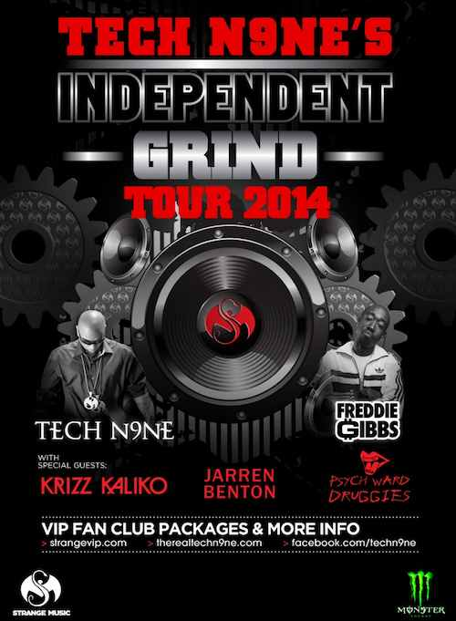 Independent Grind Tour tech n9ne