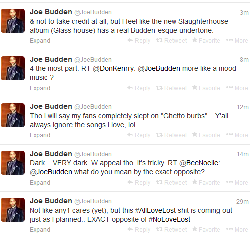 joe budden tweet