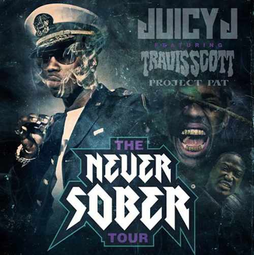 juicy j never sober tour