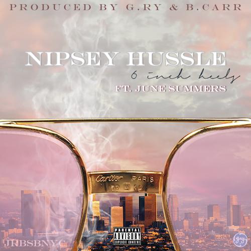 nipsey hussle-june summers-6 inch heels