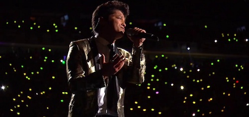 bruno mars-super bowl half time show