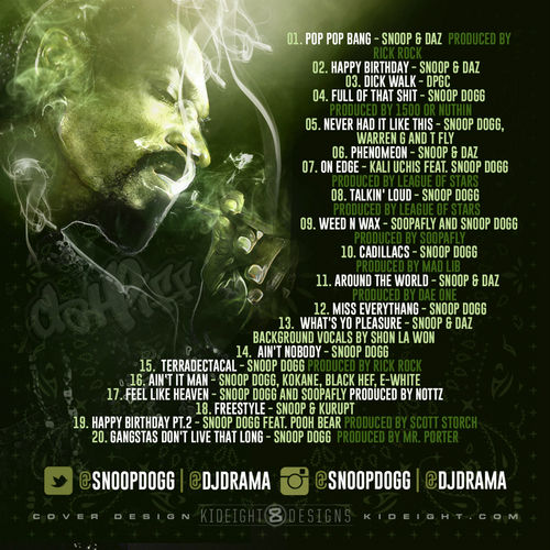 snoop dogg thats my work 3 back