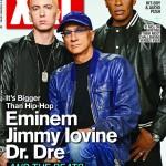 Eminem, Dr. Dre & Jimmy Iovine Cover XXL (April 2014)