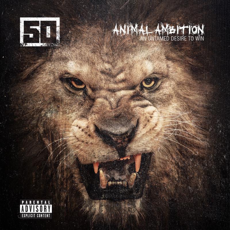 50 cent  u2013  u0026 39 animal ambition u0026 39   album cover