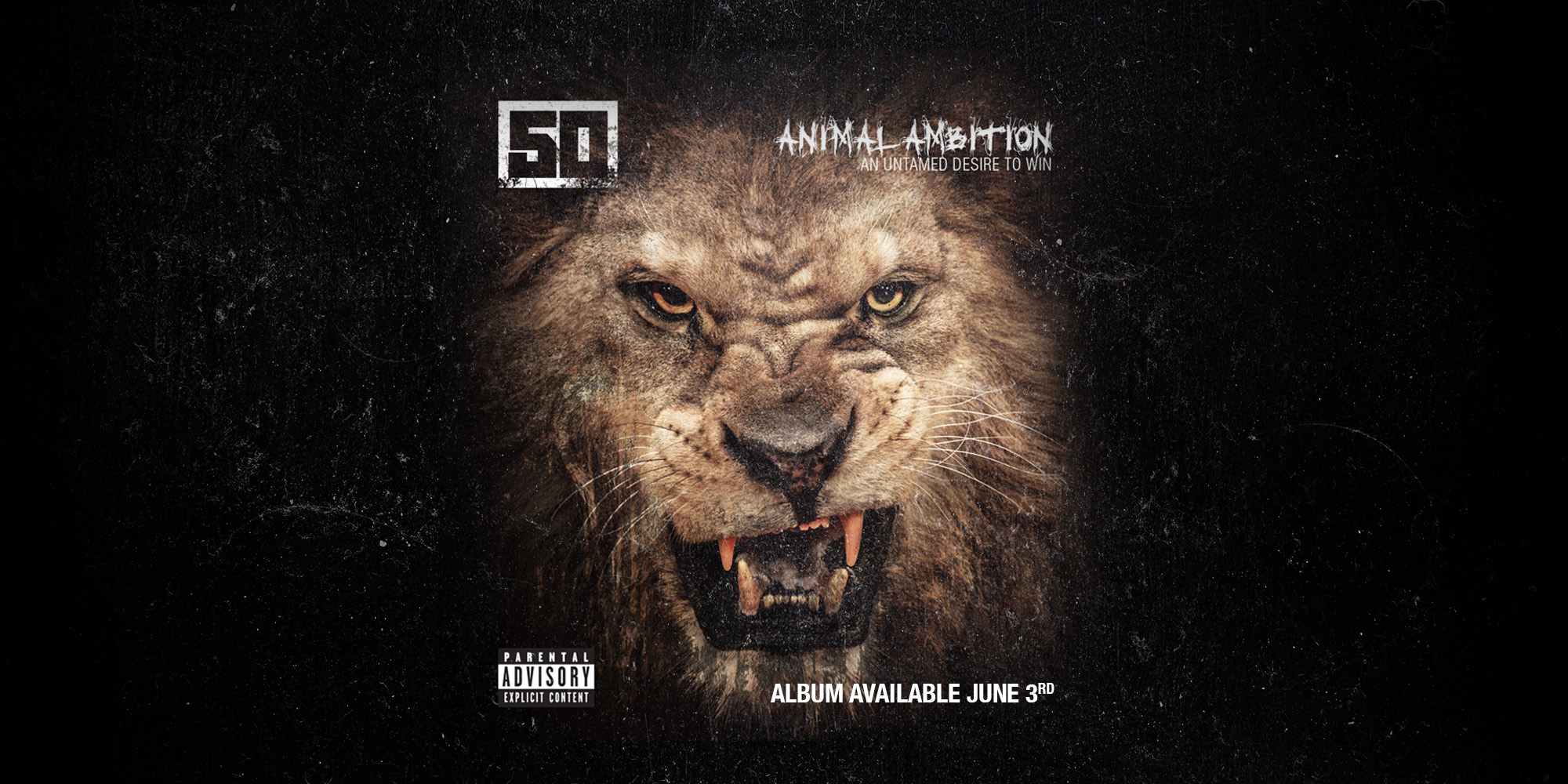 50 Cent – 'Animal Ambition' (Album Cover) | HipHop-N-More