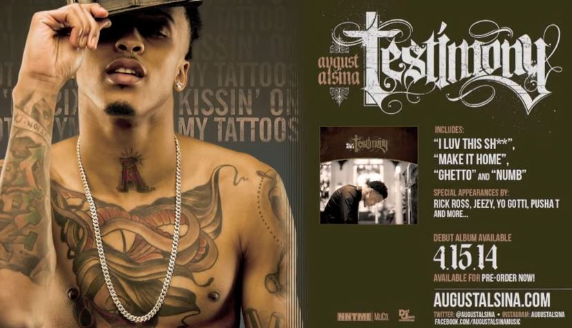 August Alsina – 'Kissin' On My Tattoos' | HipHop-N-More