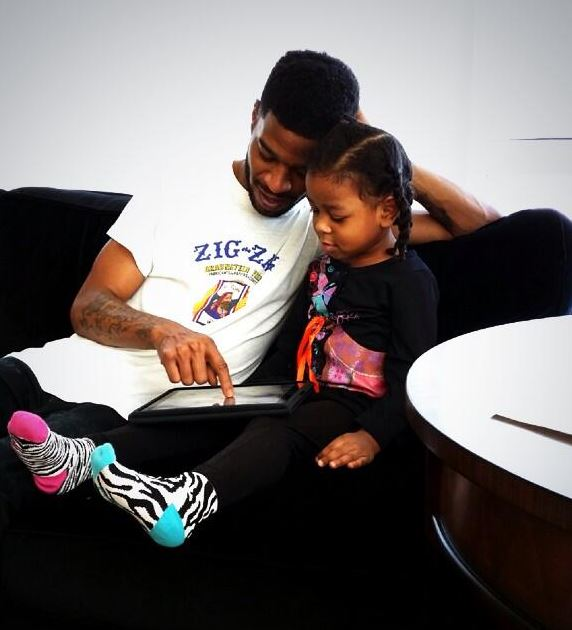Kid Cudi & his Daughter Vada Wamwene Mescud
