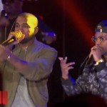 Rick Ross, Kanye & Big Sean Perform 'Sanctified' On Arsenio Hall Show