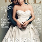 Kanye West & Kim Kardashian Cover VOGUE
