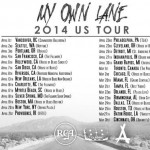 my own lane tour 150x150