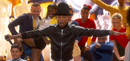 pharrell happy oscars