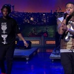 Sage The Gemini & Iamsu! Perform 'Gas Pedal' On David Letterman