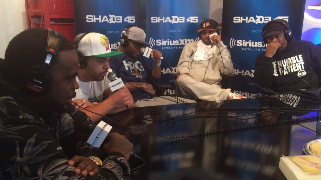 Slaughterhouse Freestyle Cypher On Sway In The Morning (SXSW