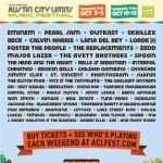 Eminem & Outkast To Headline 2014 Austin City Limits Music Festival