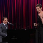 Jimmy Fallon & Anne Hathaway Sing Broadway Versions Of Rap Hits