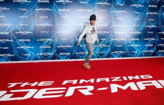 pharrell amazing spiderman