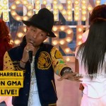 Pharrell Performs On Good Morning America